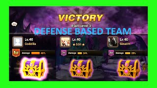 getlinkyoutube.com-Summoners War Rift of Worlds level 3 boss with DEFENSE based team