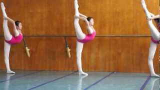getlinkyoutube.com-China Classical Chinese dance techniques streching  no ballet :-)