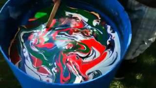 getlinkyoutube.com-Swirl Painting: Epiphone SG Special