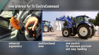 New Holland T6 Tier 4B - Inside Comfort