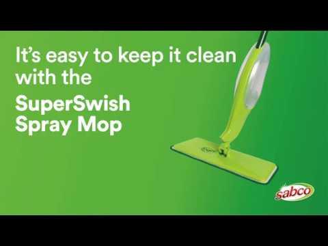 Sabco Super Swish Spray Mop