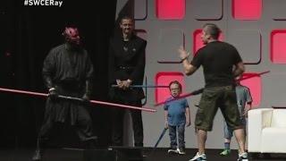 getlinkyoutube.com-Ray Park Unleashed Panel Darth Maul Fight School - Star Wars Celebration 2016