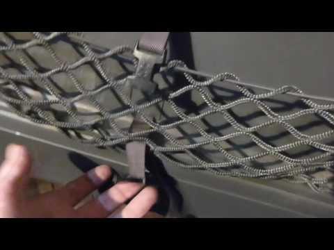 Снятие обшивки с задней (пятой) двери на ПРАДО 120