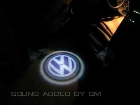 Лазерная (светодиодная) подсветка с проекцией логотипа в двери автомобилей