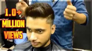 getlinkyoutube.com-Best Hairstyle for Round faces Men ★Medium fade ★Men's Haircut & Hairstyle ★★TheRealMenShow★★