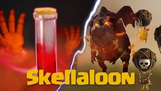 getlinkyoutube.com-Clash Of Clans | New Strategy For TH9 After Update: Skellaloon | Skeleton Spell Boosted