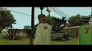 GTA San  Young Maylay   Grove Street ft  CJ  Clip