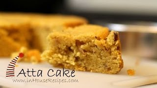 getlinkyoutube.com-Eggless Atta Cake In Cooker - Hindi with English subtitles - inHouseRecipes