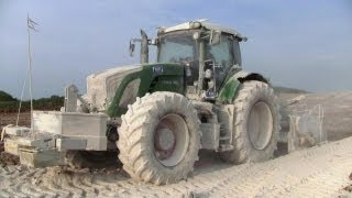 getlinkyoutube.com-Fendt 936 With Wirtgen WS 250 Soil Stabilizer