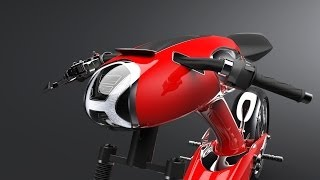 getlinkyoutube.com-50th Anniversary Honda Super 90 Concept