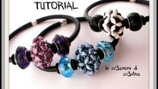 getlinkyoutube.com-Tutorial Pandorina con Superduo/ Twin Beads, Bicono Swarovski 4 mm, Rocailles - DIY Beaded Bead