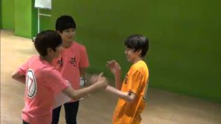getlinkyoutube.com-130702 17TV: Hansol & Seungkwan playing with the camera, then Chamx3 feat  Doyoon [SEVENTEEN TV]