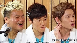 getlinkyoutube.com-Happy Together - Park Jinyoung, K.will, Seo Jiseok & Han Eunjeong! (2013.12.18)