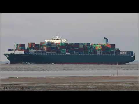 Click to view video THALASSA AVRA - IMO 9665633 - Germany - River Elbe - Otterndorf