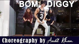 Bom diggy (Dance Video) | Zack night x jasmine walia | Aadil Khan Choreography | Girl Style Dance
