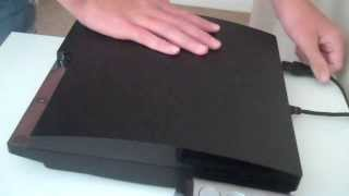 getlinkyoutube.com-How to Clean Your Ps3 Without Taking Apart/ How To Defragment Ps3 Slim-Fat!
