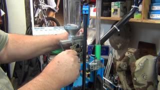getlinkyoutube.com-Dillon Xl 650 Caliber Change, Setup and 9mm Reloading