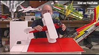 (corrected) Build video: The $10 RC nitro plane made from coreflute (part 1)