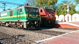 THE MOST EPIC FAIL MOMENT in Railfanning! Indian Railways