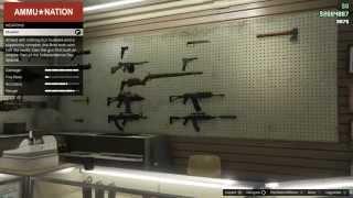 getlinkyoutube.com-【PS4でGTA5実況!】 武器屋へGo!! 新しい武器は何が増えてるかな!?(一人称・主観モード)