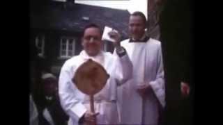 Amtseinfuehrung von Pfarrer Alfred Bonse in Lembeck - 1970