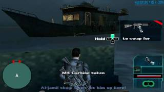 Syphon Filter: Logan's Shadow - PSP - #01-3. Cargo Hold Five - Ocean's Five [1/2]