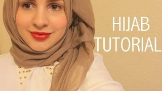 getlinkyoutube.com-Hijab tutorial (show off your collar/necklace) | Safiyahhh