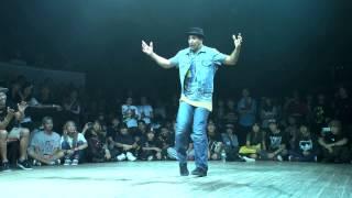 getlinkyoutube.com-WAPPER(BORN 2 FUNK) vs SALAH(VAGABOND CREW) DANCE@LIVE 2014 FREESTYLE KANTO CHARISMAX vol.2【FINAL】