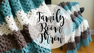 getlinkyoutube.com-How To Crochet the Family Room Throw, Episode 334