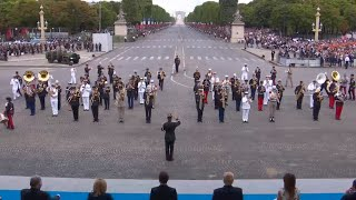 French army band medleys Daft Punk following Bastille Day parade width=