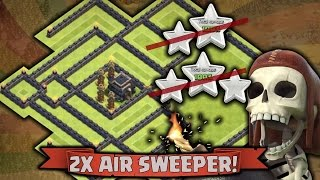 getlinkyoutube.com-Clash Of Clan TH9 Best Champion Trophy/War Base - Anti 2/3 Star