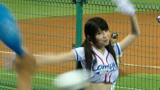 超絶かわいいラミガールズ 小帆 伊伊 台湾プロ野球