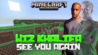 getlinkyoutube.com-See You Again - Wiz Khalifa ft. Charlie Puth Minecraft Xbox One Noteblock Song