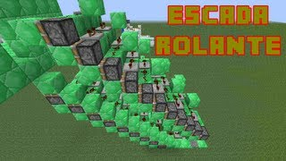 getlinkyoutube.com-Tutorial Escada Rolante Minecraft