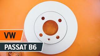 getlinkyoutube.com-Jak wymienić tylne tarcze hamulcowe i tylne klocki hamulcowe w VW PASSAT B6 [TUTORIAL]