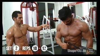 getlinkyoutube.com-Sergi Constance & Alon Gabbay #SCmass / offseason Chest & shoulders workout
