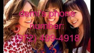 getlinkyoutube.com-Demi Lovato's REAL PHONE NUMBER & ADDRESS! WITH PROOF!