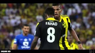 سبرنت فهد المولد وقطع الكره من امام الشلهوب HD