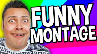 getlinkyoutube.com-FUNNY MOMENTS MONTAGE (MessYourself Montage)
