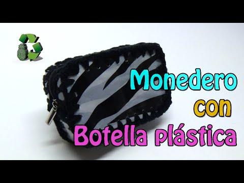 74. DIY PURSE (MONEDERO) RECICLAJE DE BOTELLAS PLÁSTICAS