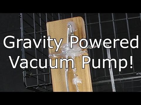 Sprengel Vacuum Pump: The most efficient pump ever?