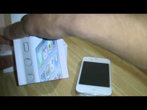 TV Geek - Unboxing Iphone 4S