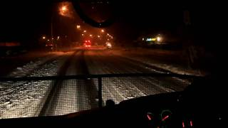 Ice Road Trucking New Zealand style onboard R580 Scania B-train