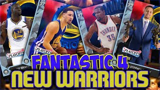 NBA 2K16 MYTEAM 2017 GOLDEN STATE WARRIORS! THIS TEAM IS TO GOOD FOR EVEN MYTEAM!