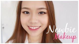 getlinkyoutube.com-Beginner Makeup Tutorial ( Drugstore ) | Eng Sub | Molita Lin