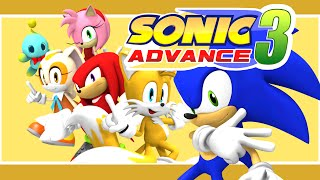 Sonic Advance 3 - The Intro (3D Animation)
