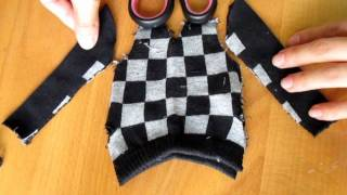 getlinkyoutube.com-How to make doll outfit 16 Sweater