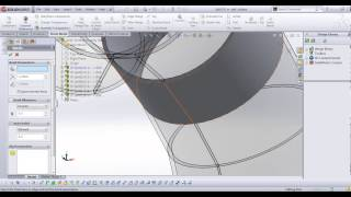 getlinkyoutube.com-Advanced sheet metal in solidWorks APSC 171
