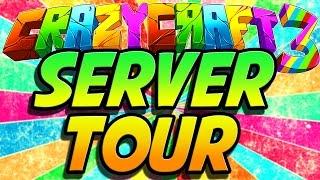 Minecraft Crazy Craft 3: Crazy Craft Server Tour! #60