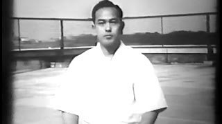 getlinkyoutube.com-Koichi Tohei 10th Dan - Rare Aikido Demonstration (1957)